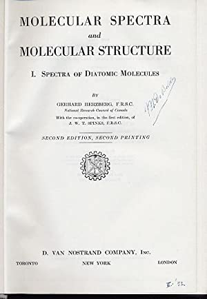 Molecular Spectra and Molecular Structure. IV. Constants of Diatomic Molecules.