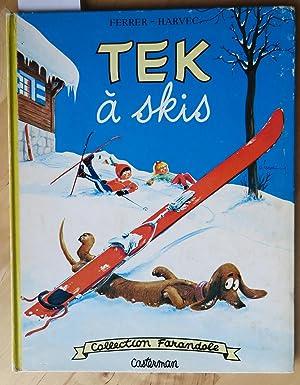 Tek à skis: Ferrer Laurent