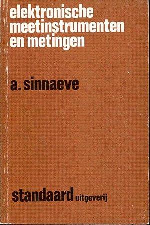 Elektronische meetinstrumenten en metingen: Sinnaeve A. F.