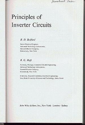 Principles of inverter circuits: Bedford B.D.