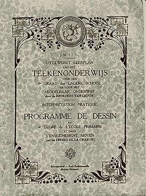 Uitgewerkt Leerplan Van Het Teekenonderwijs Voor Den: J.M. Et J.V.