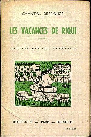 Les vacances de Riqui: Defrance Chantal