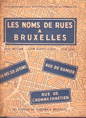 Les noms de rues à Bruxelles. Leur: Bernaerts Aimé et