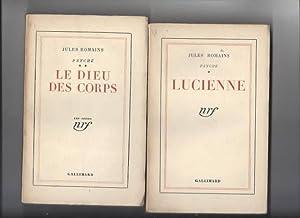 Psyché (I et II, lucienne, le dieu: Jules Romains