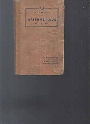 Arithmétique - 6è A et B -: E.Combette