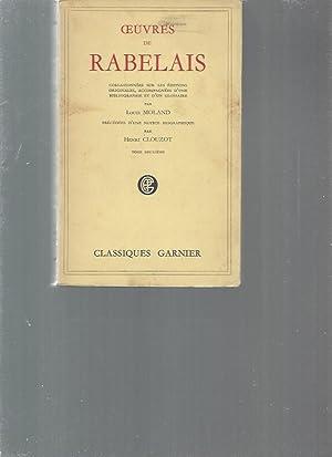 Oeuvres de Rabelais / collectionnées sur les: Louis Moland