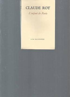 L'enfant de Paris: Claude Roy