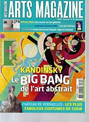 Art Magazine - N°34 (Mai 2009) : Kandinsky. Le big bang de l'art abstrait.