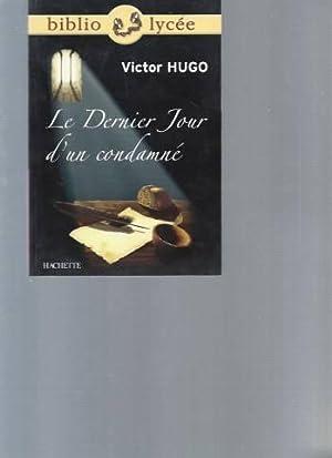 Le dernier jour d'un condamné (Specimen réservé: Victor Hugo
