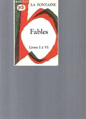 La Fontaine - Fables : Livres I: Pierre Michel, Maurice