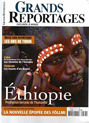 Grands Reportages - N°288 : Ethiopie, prodigieux: Collectif