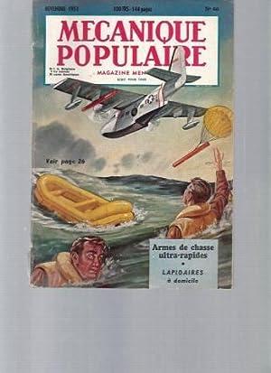 Mécanique Populaire - N°66 (novembre 1951) : Collectif