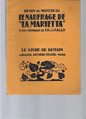 "La naufrage de ""La Marietta"". 37 bois: Henry De Monfreid"
