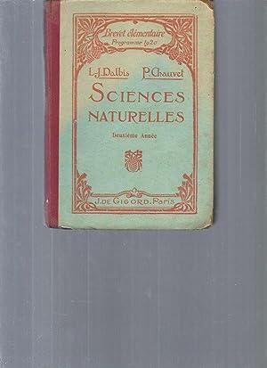 Sciences naturelles, deuxième année (brevet élémentaire, programme: L. J Dalbis,