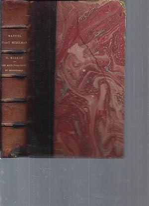 Manuel d'art Musulman - Tome 2 : Gaston Migeon