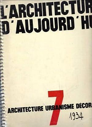 L'Architecture d'Aujourd'hui / N° 7 : Architecture: Collectif