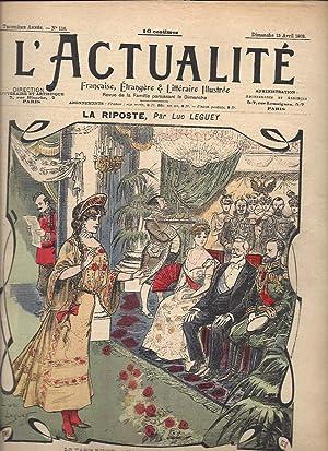 L'Actualité / N°116 du 13 avril 1902: Collectif