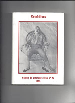 Cahiers de litterature orale n°25 cendrillons