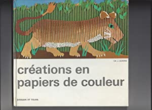 Creations en papiers de couleur