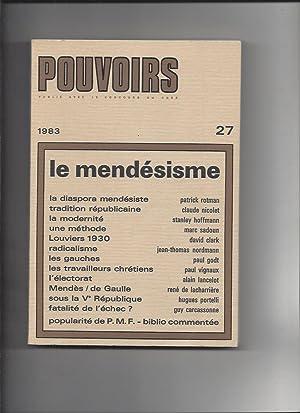 Pouvoirs, Revue Française d'Etudes Constitutionnelles et Politiques,: COLLECTIF, Patrick ROTMAN,