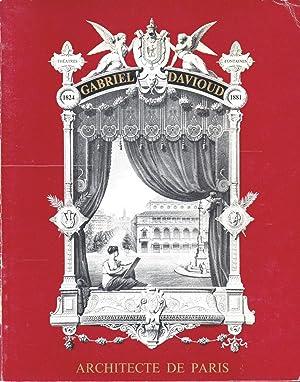 GABRIEL DAVIOUD ARCHITECTE DE PARIS (1824 -: COLLECTIF. Catalogue d'exposition