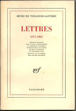 LETTRES.: Henri de TOULOUSE-LAUTREC