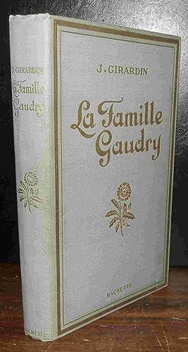 LA FAMILLE GAUDRY: GIRARDIN Jules