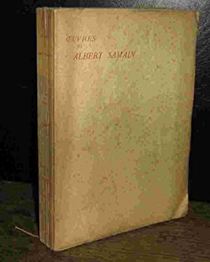 Oeuvres by albert samain abebooks for Au jardin de l infante albert samain