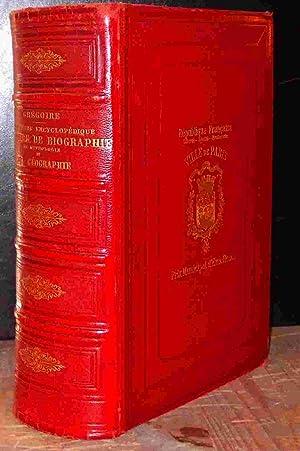 DICTIONNAIRE ENCYCLOPEDIQUE D'HISTOIRE, DE BIOGRAPHIE, DE MYTHOLOGIE ET DE GEOGRAPHIE: ...