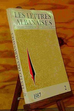 LES LETTRES ALBANAISES: COLLECTIF