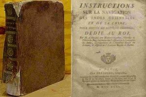 INSTRUCTIONS SUR LA NAVIGATION DES INDES ORIENTALES: APRES DE MANNEVILLETTE