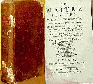 LE MAITRE ITALIEN DANS SA DERNIERE PERFECTION: VENERONI Giovanni
