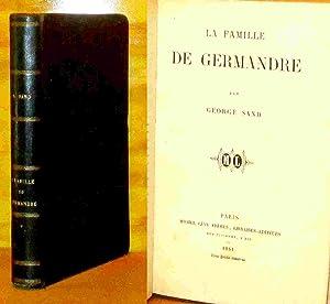 LA FAMILLE DE GERMANDRE: SAND George