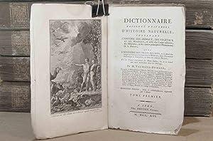 DICTIONNAIRE RAISONNE UNIVERSEL D'HISTOIRE NATURELLE, CONTENANT L': VALMONT DE BOMARE