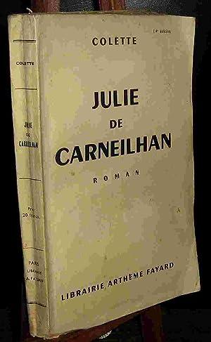 JULIE DE CARNEILHAN: COLETTE