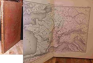 HISTOIRE DE JULES CESAR - ATLAS: NAPOLEON BONAPARTE Charles Louis