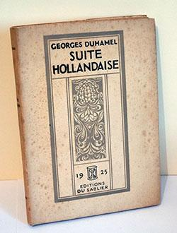 DUHAMEL Georges - Suite Hollandaise - 1925