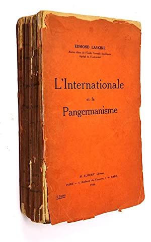 Laskine Edmond. L'Internationale et le pangermanisme