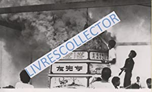 THAÏLANDE - KAMPUCHEA : CRÉMATION DE 2500