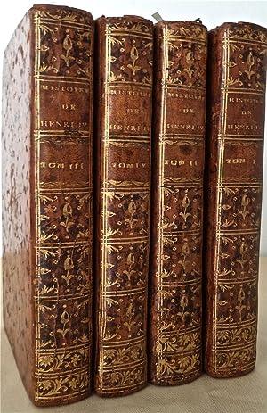 Histoire de la vie de Henri IV,: de BURY Richard