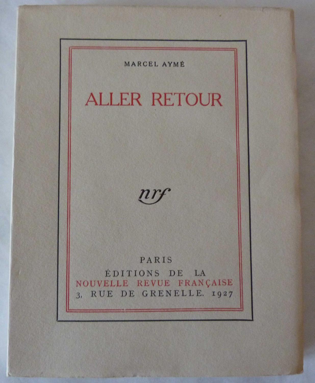 Aller_retour_AYME_Marcel_Bon_Couverture_souple