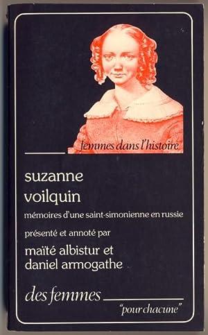 Mémoires d'une saint-simonienne en Russie (1839-1846): Voilquin, Suzanne
