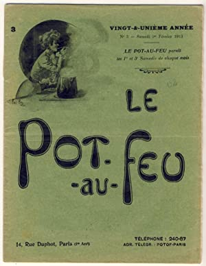 Le Pot-au-Feu. Vingt-et-unième année. N°3 - Samedi: Anonyme