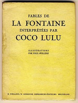 Fables de La Fontaine interprétées par Coco: Lefèvre, Victor