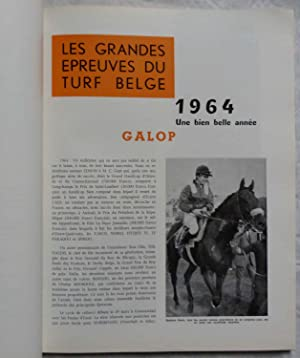 Les Fastes Hippiques Belges. Revue annuelle, édition 1965: Collectif