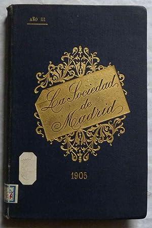 La Sociedad de Madrid. Libro de los: Anonyme