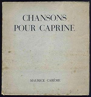 Chansons pour Caprine: Carême, Maurice