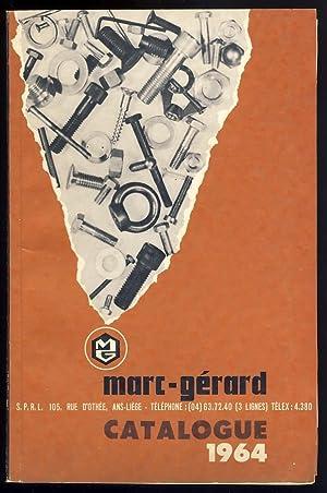 Catalogue visserie 1964: Ets. Marc - Gérard