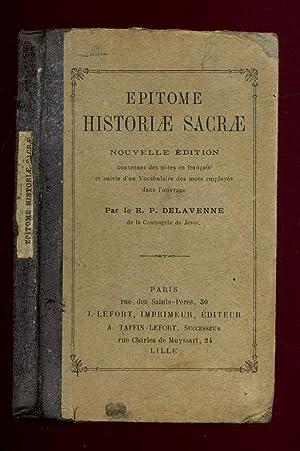 Epitome Historiae Sacrae / 1900 / Delavenne: Delavenne