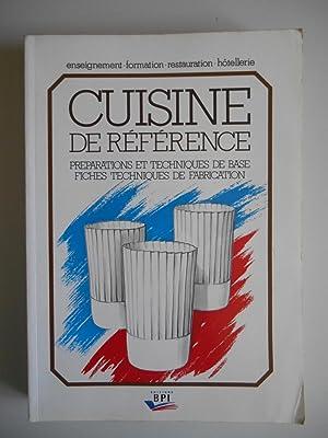 La cuisine de reference by maincent abebooks for Academie nationale de cuisine